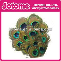 Wholesale peacock Eye feather pad for children/women headband DIY craft decoration