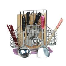 new design metal kitchen knife and fork blocks