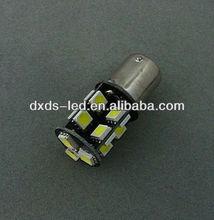 Car led tuning light 1156 BA15s R5W P21W 382 car Canbus 19 SMD LED White Stop Tail Turn Brake Light Bulb