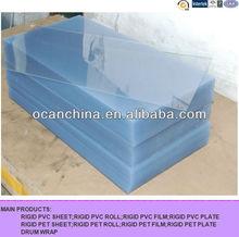 Printable rigid clear PVC Sheet