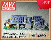 MW 80W 30V Transformer UL CUL HLP-80H-30 with PFC Function