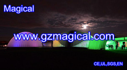 party led dome price/ outdoor party event inflatable dome tent price