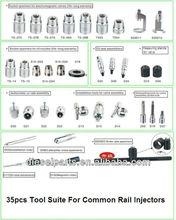 35 pcs common rail injector repair tools/injector Tool set/dismantling tools