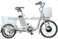 electric three wheel bike for old people