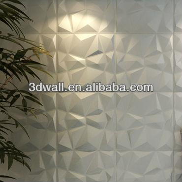 pannelli della parete 3d arredamento 3 dwall di colore bianco-Carte ...