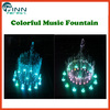 led garden music dancing fountain outdoor decorative fountain
