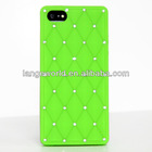 LUXURY DESIGNER DIAMOND BLING SOFT SILICONE SKIN RUBBER CASE COVER FOR APPLE IPHONE 4 4G