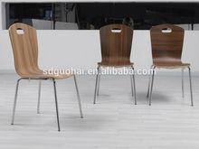 2014 new design plywood restaurant chair
