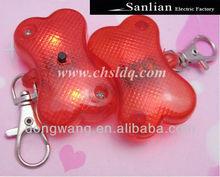 2013 Modern plastic small bone shape pet dog tags LED lights