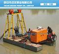 eléctrico vertical de la bomba de arena para el dragado del río