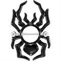 fantástico 2014 negro araña tribales escudo del pezón