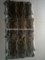 de alta calidad de paja natural de piel de conejo de piel