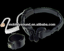 Speaker Microphone for MOTOROLA/KENWOOD/VERTEX/ICOM/SEPURA-Heavy Duty Throat Microphone