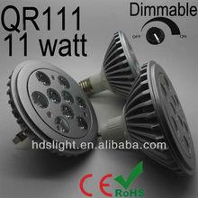 free voltage Epistar 11W warm white led spotligt osram qr111