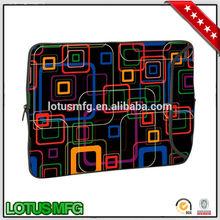 Flower Print Laptop Bags Sublimation Neoprene Laptop Sleeve for iPad Air Case