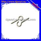 earing stainless steel screw hook
