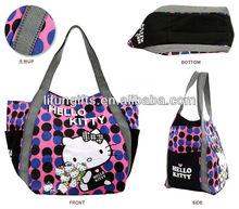 2014 Ladies' Fashion 8oz Canvas Handbag,tote bag,women shoulder bag