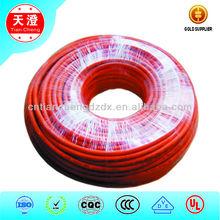 5*0.75mm muti-core heat resisting silicone rubber cable