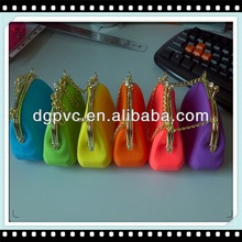 fashion wallet ,promotional silicone handbag, zip tote bag
