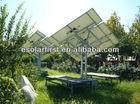 1.5KW Using in Garden Min Solar Tracker System