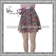 ANNA SHI latest novo bale de saia chiffon de projeto exercicio vestido