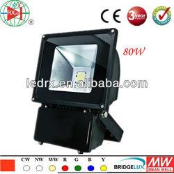 LED Light Manufacturer, AC90-240V Super Bright Outdoor LED Flood Light ztl 80W