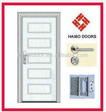 PVC coated interior mdf inner door