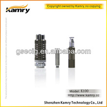 2013 golden greek new mechanical mod huge vapor 510 drip tip K100 electronic cigarette