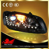 2011-2013 Plug and Play installation Volkswagen VW Passat headlight kit B7 with HID DRL bulit in