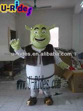 Cartoon mascot Shrek Fur costume( D264)