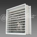 Un ruido mínimo de la pared del ventilador de escape con anti- los insectos del obturador