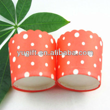Red / white dots cupcake liners