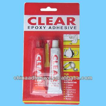 Clear Epoxy AB Glue, Epoxy AB adhesive