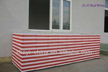 HDPE balcony safety net color stripe