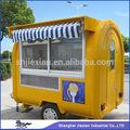 Móvil 2014 carrito de fibra de vidrio del quiosco del remolque!!! Personalizado foodcart jx-fr220h