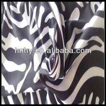 4-way Leopard Printed Elastic Cloth Nylon Spandex Fabric