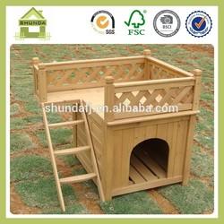 SDD01 Wooden unique dog kennel