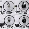 NEW CE, two year warranty electric bike conversion kits, wheel hub motor kit, electric bike convertion kit