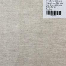 40s/2*14 single nature viscose/linen fabric