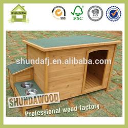 SDD0603 Wooden outdoor dog kennel