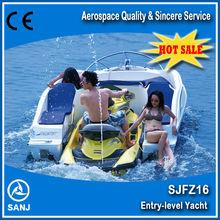SANJ Combined fiberglass speed boat SJFZ16 for Jet ski