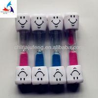Teeth design toy hourglass