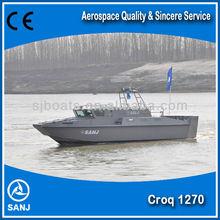 SANJ High Speed Aluminiumused Patrol Boat used CROQ1270