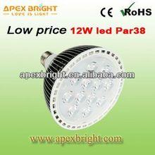 hot sale E14/E27 tri color led flat par light