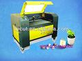Fct-1290l-ccd ccd de corte a laser em venda/laser cortador de vidro/cortadores a laser para a madeira