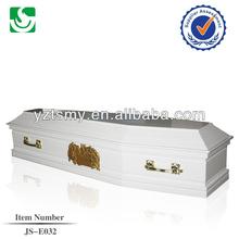 paper coffin white