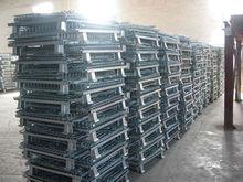 Steel Zinc Folding Storage Cage