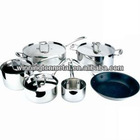 Stainless Steel Triply Steel Cookware