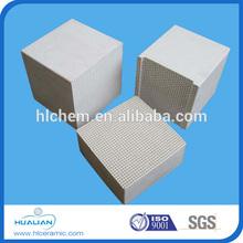 Cordierite Thermal Honeycomb Ceramic Block For HTAC,Industrial Honeycomb Ceramic