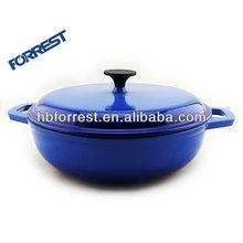 Cast iron big casserole hot pot cookware